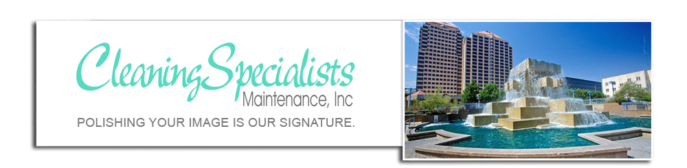 commercial cleaning albuquerque banner