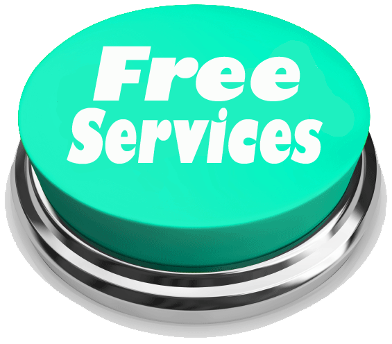 free cleaning services button picture