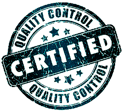 cleaning service quality control seal